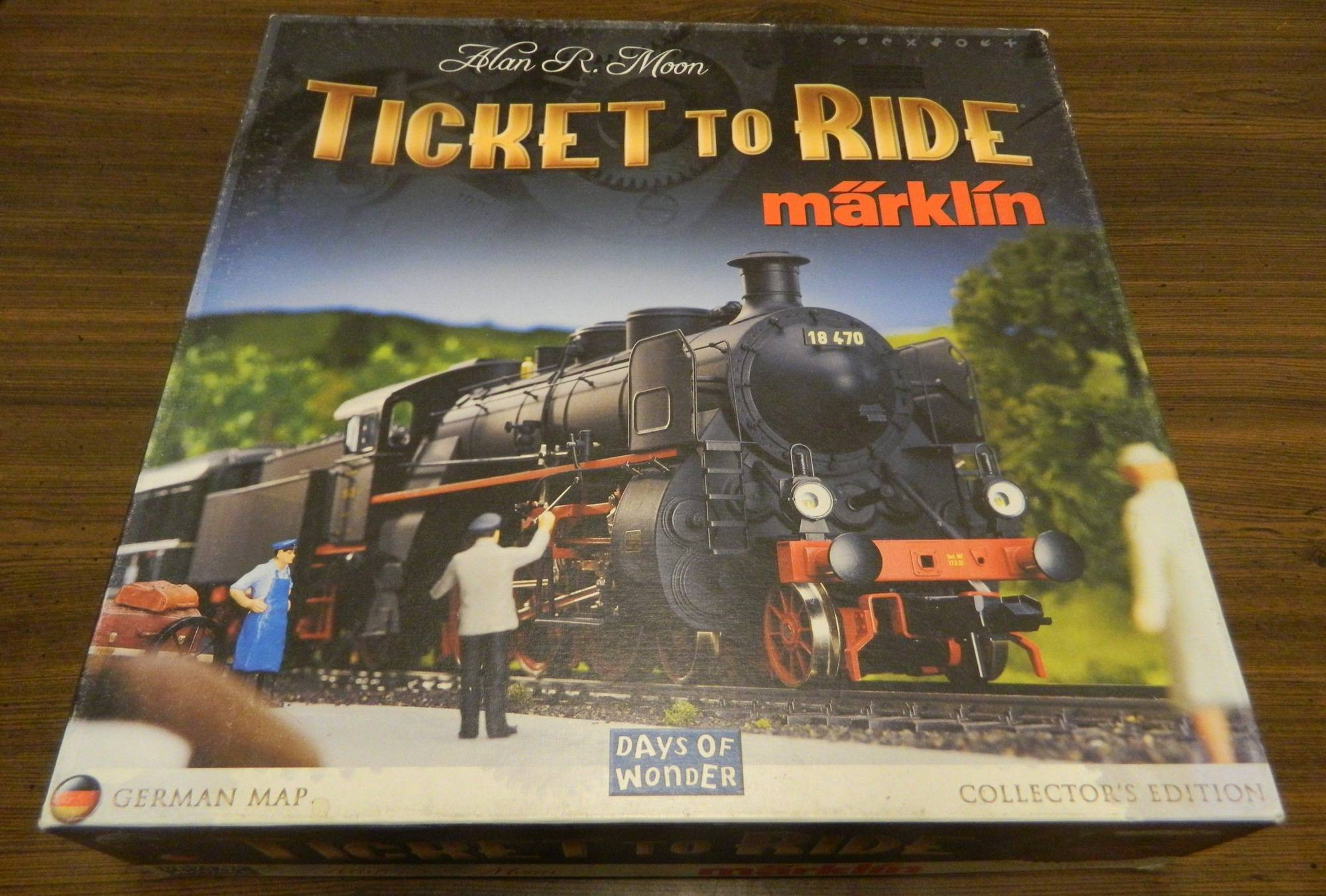 Box for Ticket to Ride Marklin
