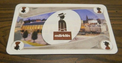 Passenger Card from Ticket to Ride Marklin