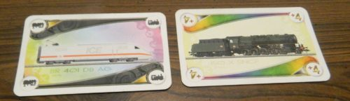 Locomotive Cards in Ticket to Ride Marklin