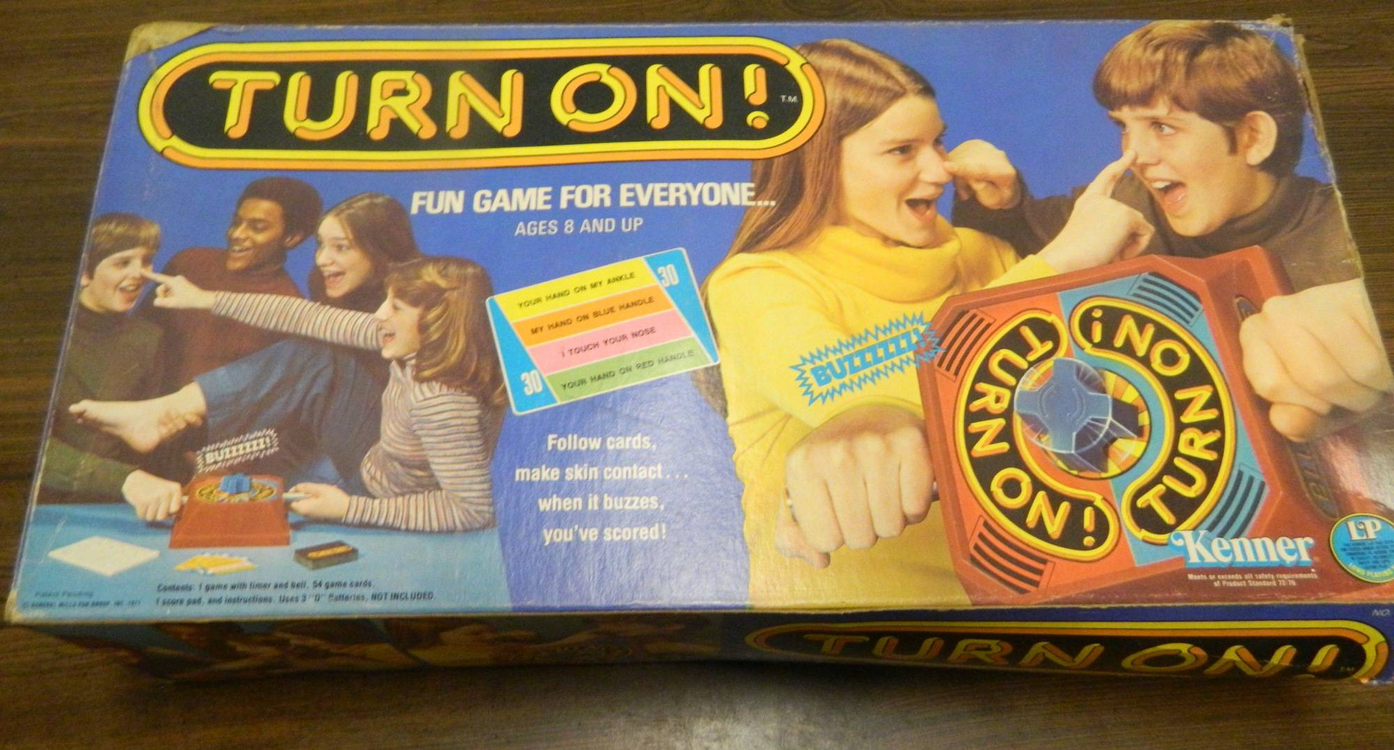 Box for Turn On Game