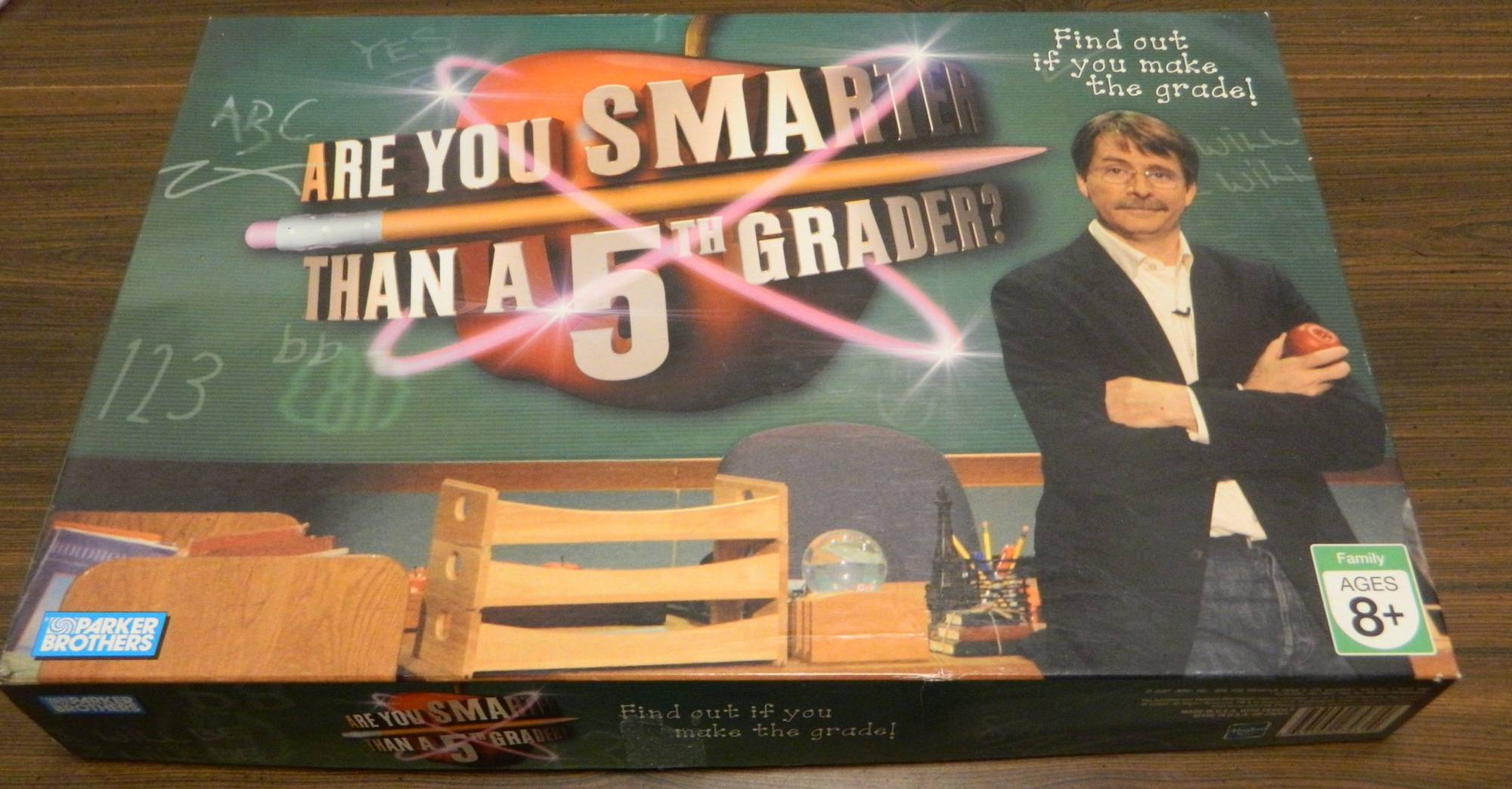 Box for Are You Smarter Than A 5th Grader