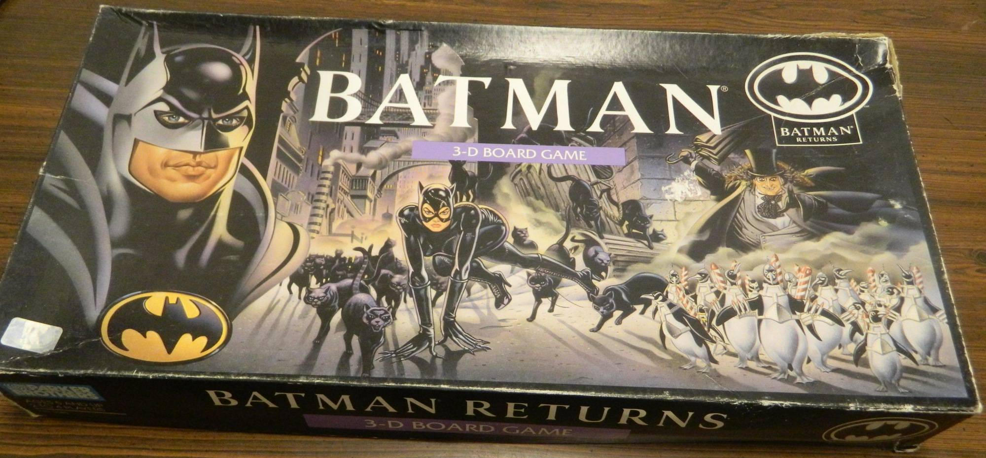 Box for Batman 3D Board Game