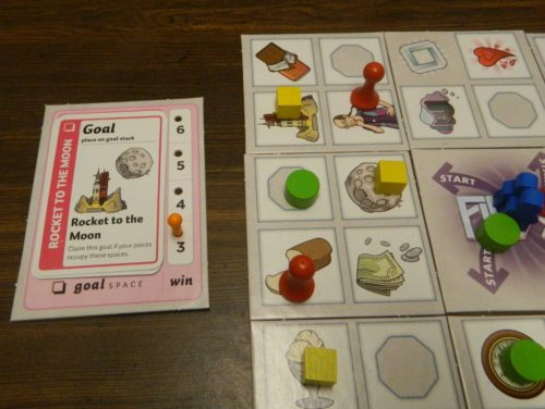 Collect A Goal Card in Fluxx The Board Game