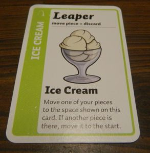 Leaper Card in Fluxx The Board Game