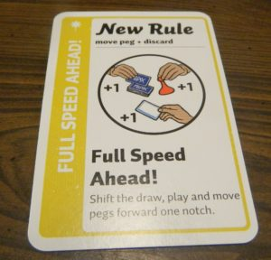 New Rule Card in Fluxx The Board Game