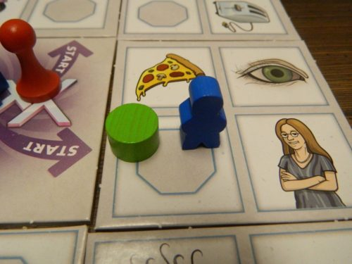 Octagon Space in Fluxx The Board Game