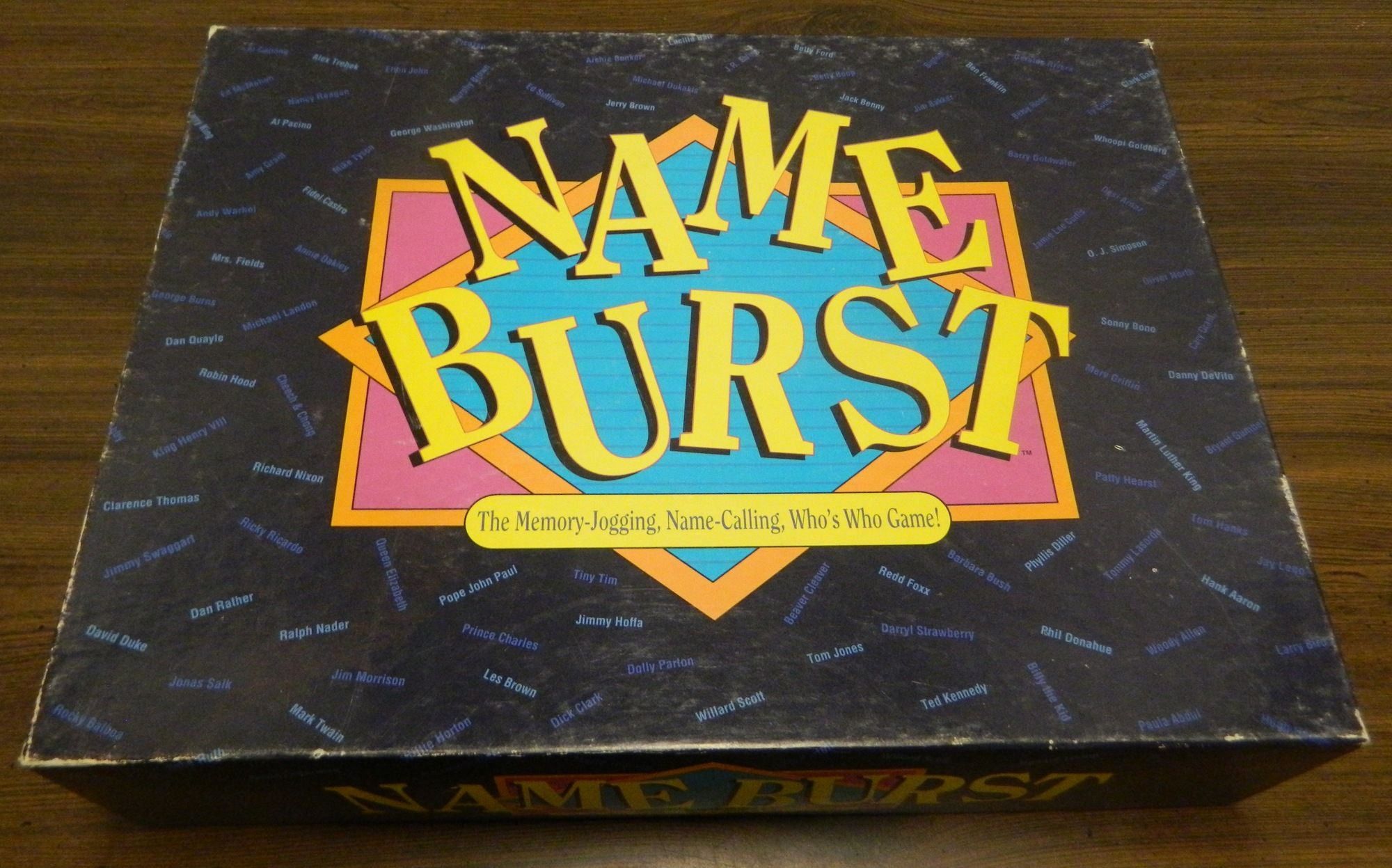 Box for Name Burst