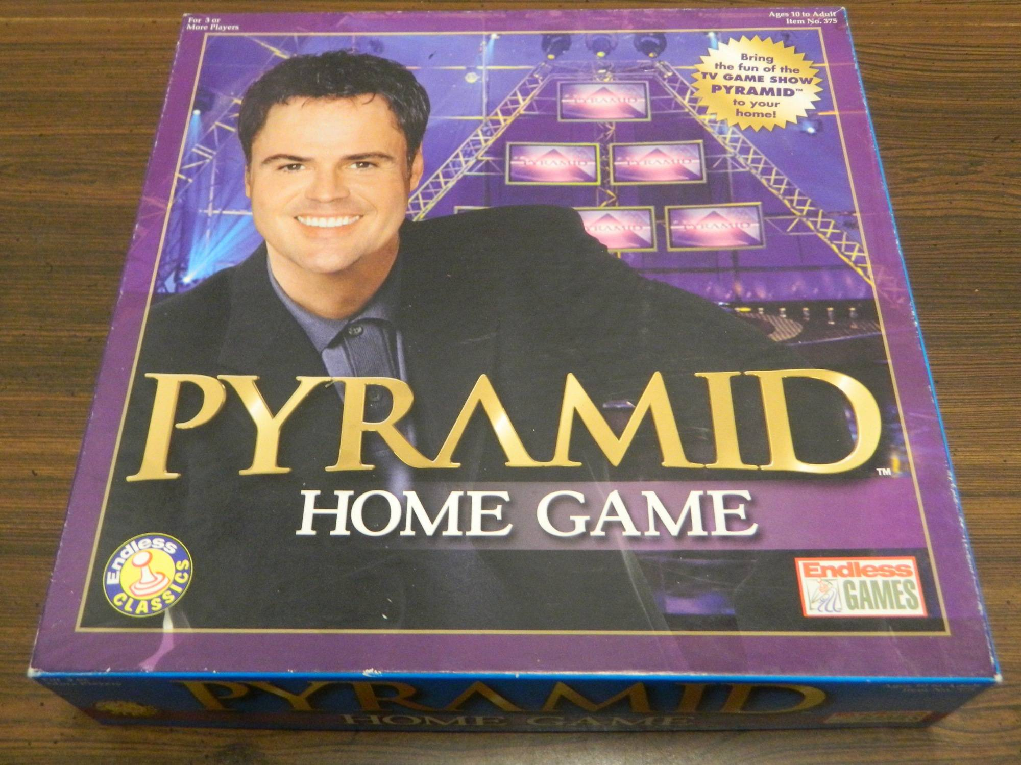 Box for Pyramid Home Game