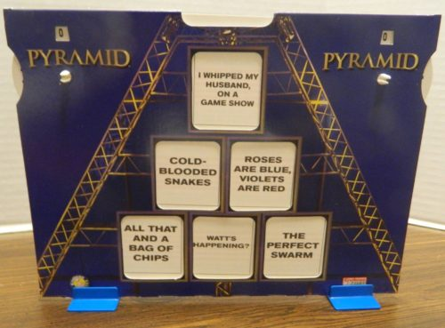 Categories for Pyramid Home Game