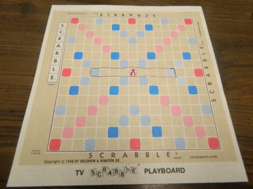 Laying Out Playboard in TV Scrabble