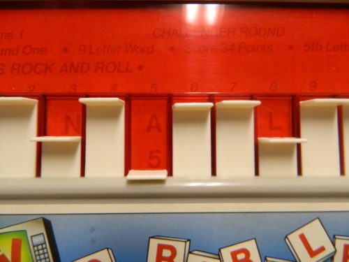 Revealing Letters in TV Scrabble