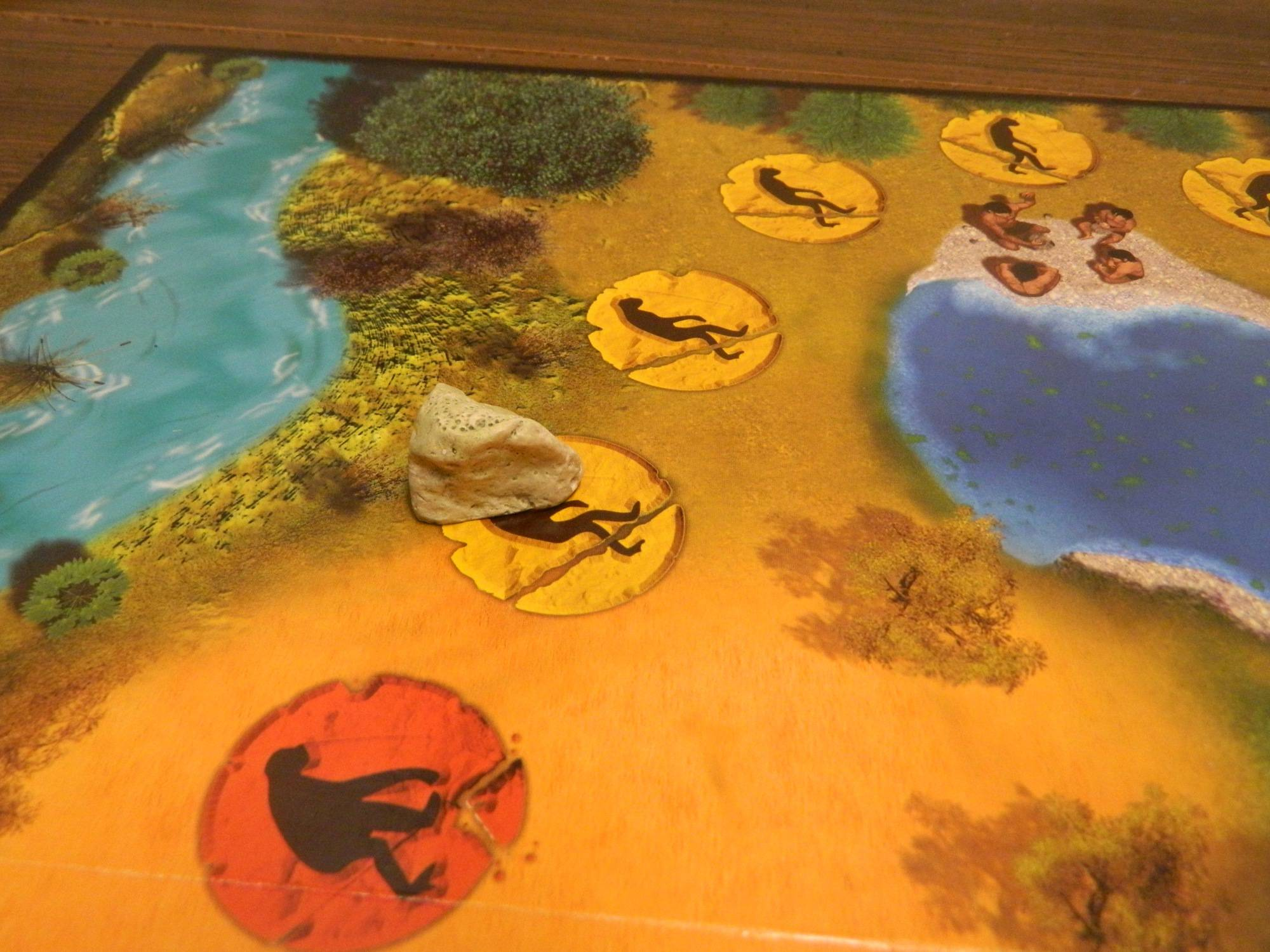 Cro-Magnon Board Game Review and Rules | Geeky Hobbies