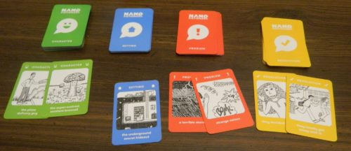 Draw Cards from Nanofictionary