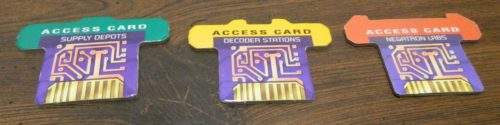 Access Cards in The Omega Virus