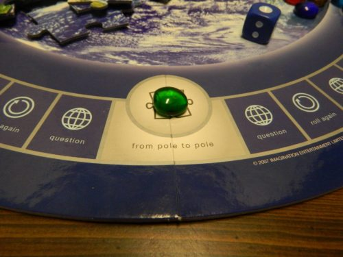 Puzzle Piece Space in Planet Earth DVD Game