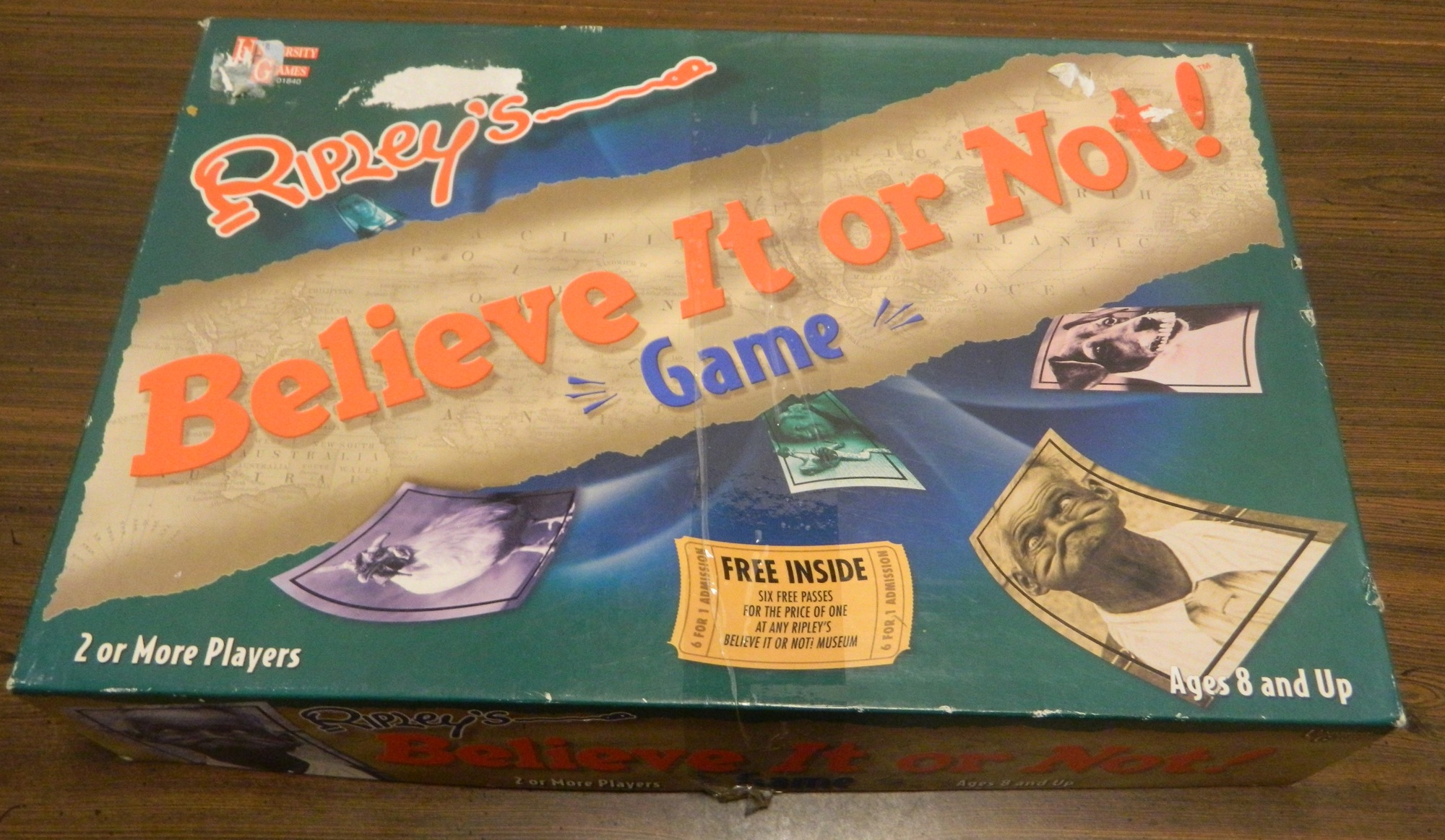 Box for Ripley's Believe It or Not Game