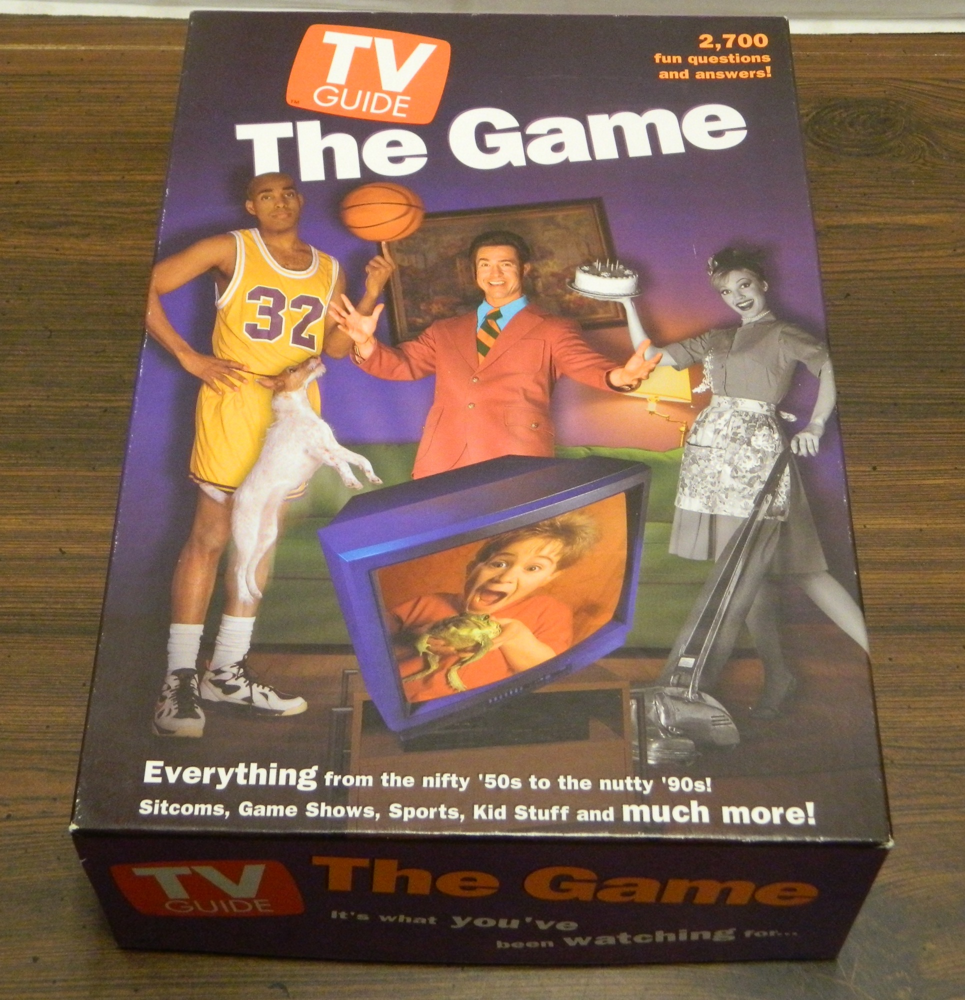 TV Guide The Game Board Game Box