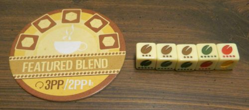 Featured Blend in Viva Java Dice Game