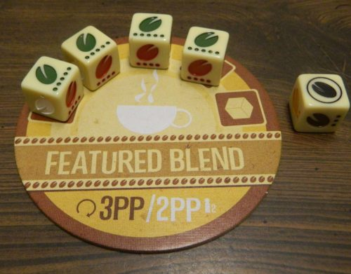 Degrading Blend in Viva Java Dice Game