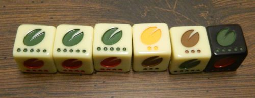 Flavor Die in Viva Java Dice Game