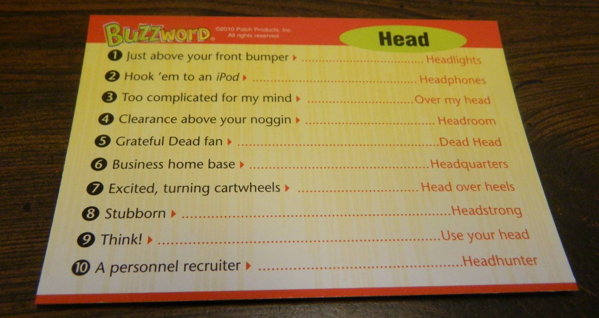 Buzzword And Buzzword Junior Board Game Review And Rules Geeky Hobbies