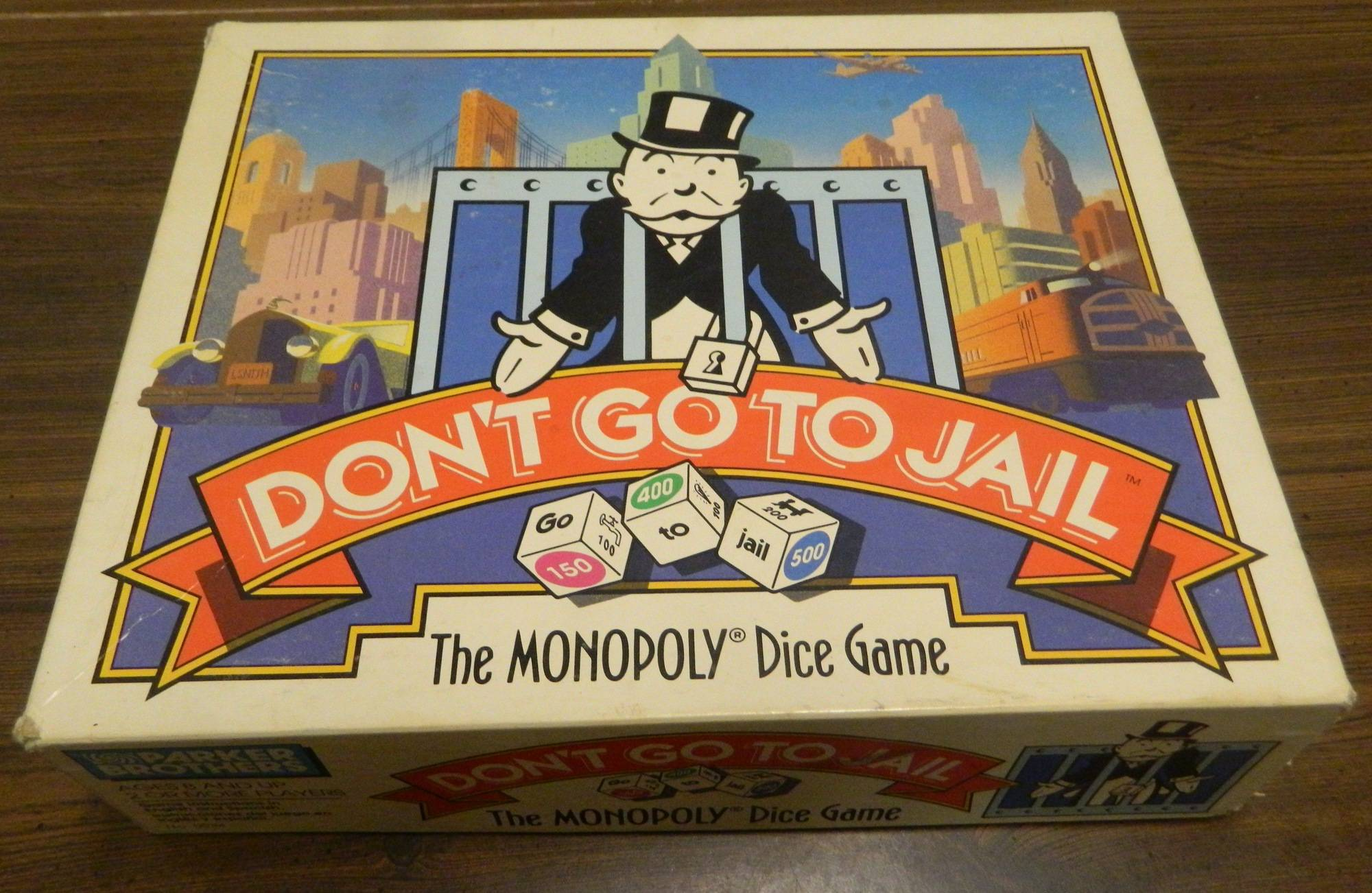 Box for Don't Go to Jail