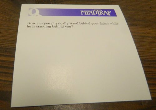 Question Card in MindTrap