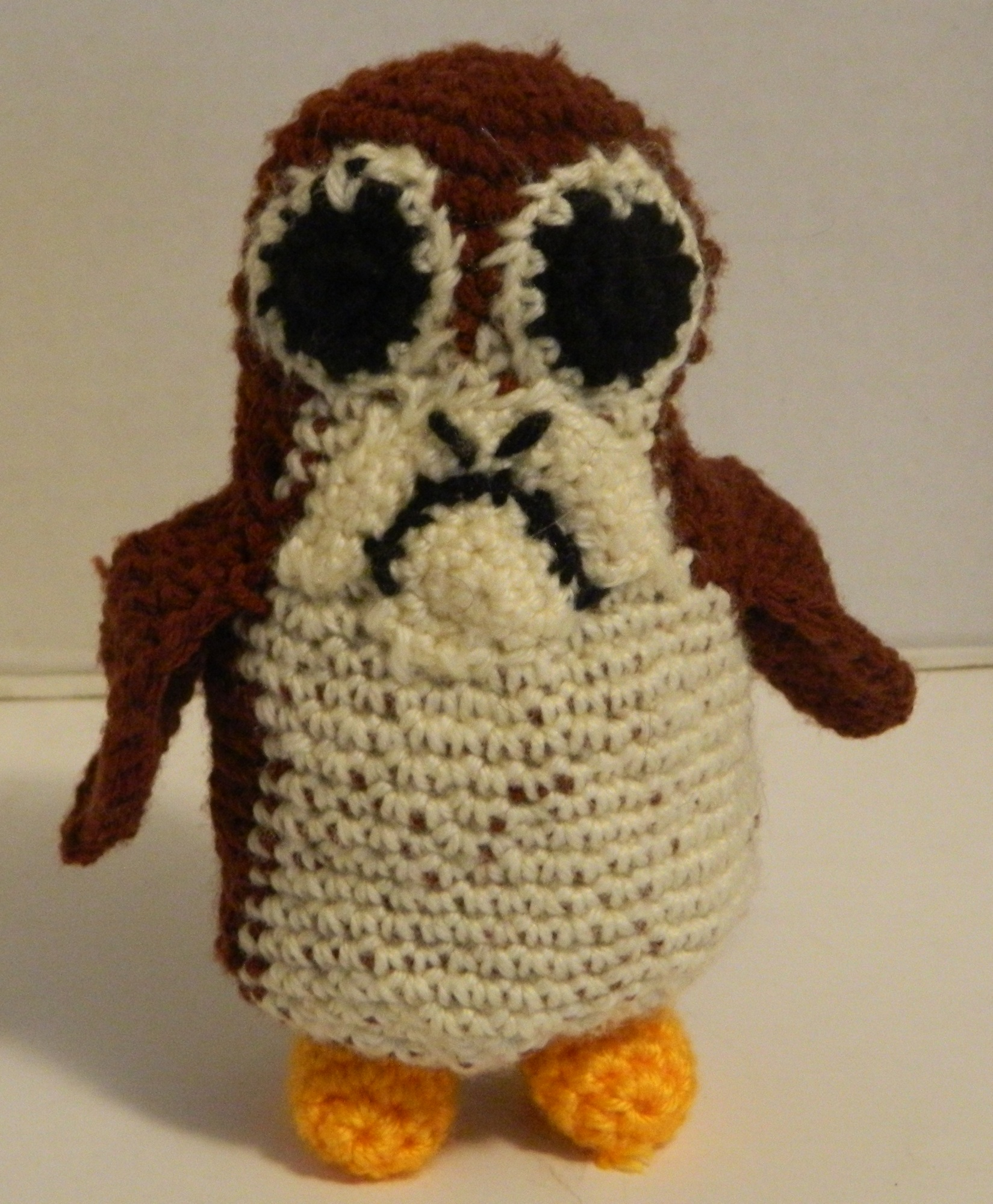 Porg (Star Wars 8: The Last Jedi) Amigurumi Pattern: Geeky Crochet ...