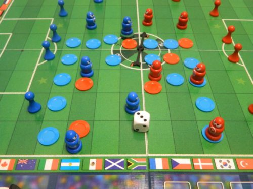 Moving A Player in Soccer Tactics World