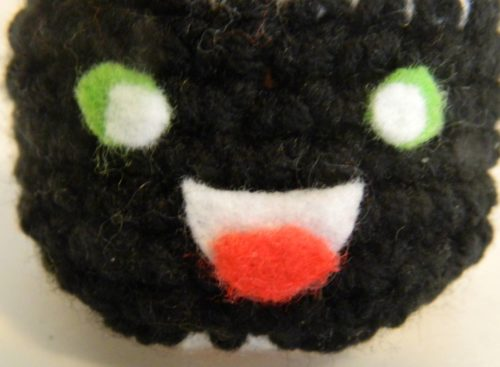 Face for Crochet Maki Roll