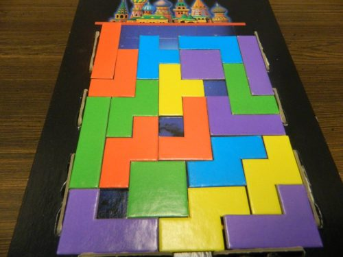 End of Round in Tetris Board Game