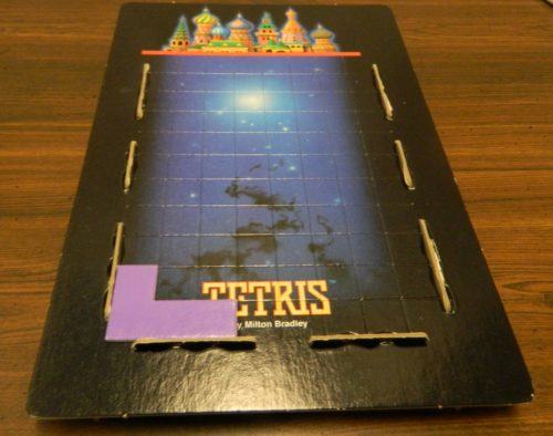 Placing A Block in the Tetris Board Game
