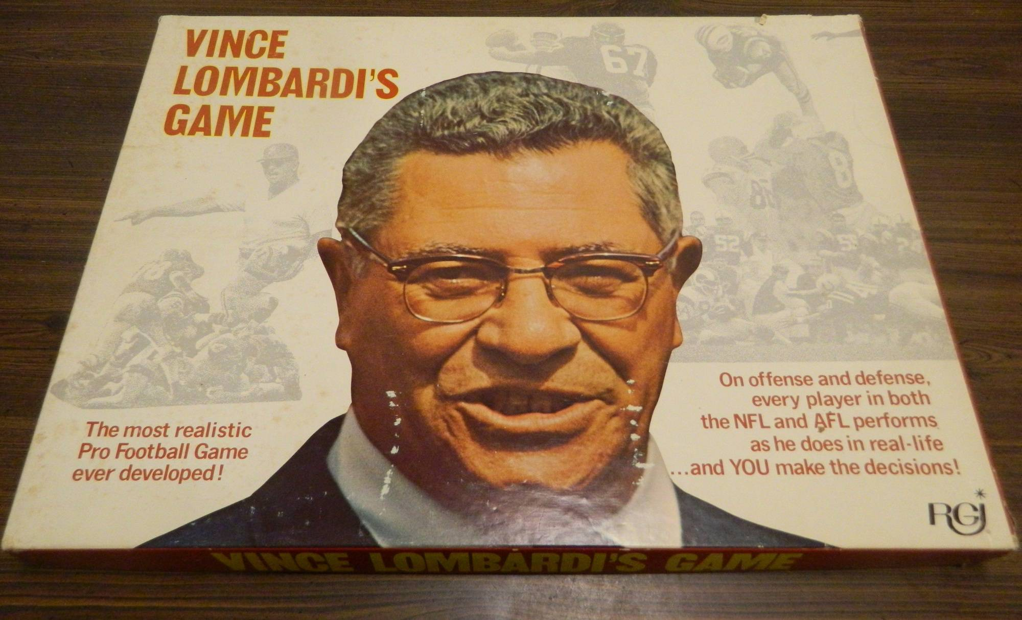 Box for Vince Lombardi's Game