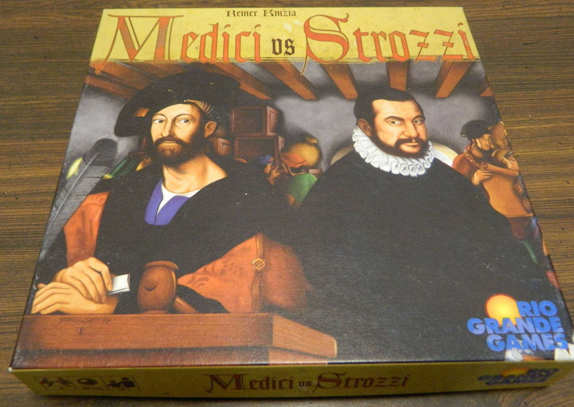Box for Medici vs Strozzi