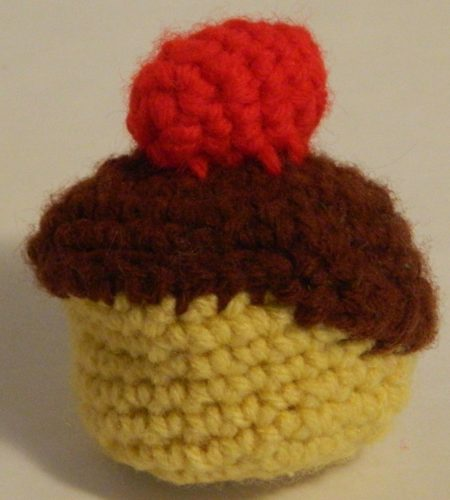 Crocheted Pudding Amigurumi