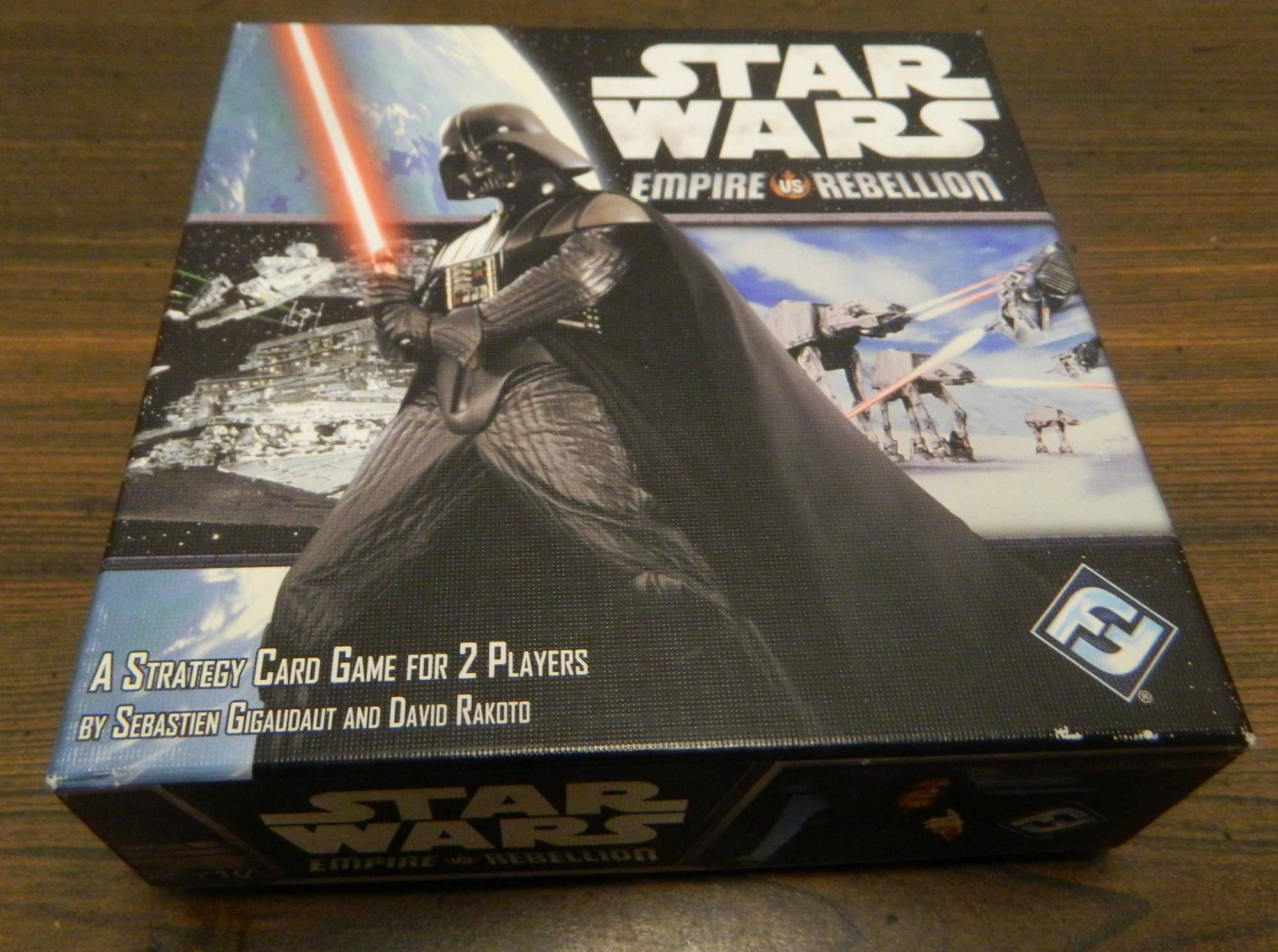 Box for Star Wars Empire vs Rebellion