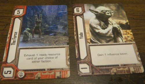 Resource Cards in Star Wars Empire vs Rebellion