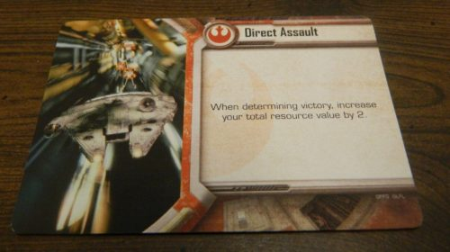 Strategy Card from Star Wars Empire vs Rebellion