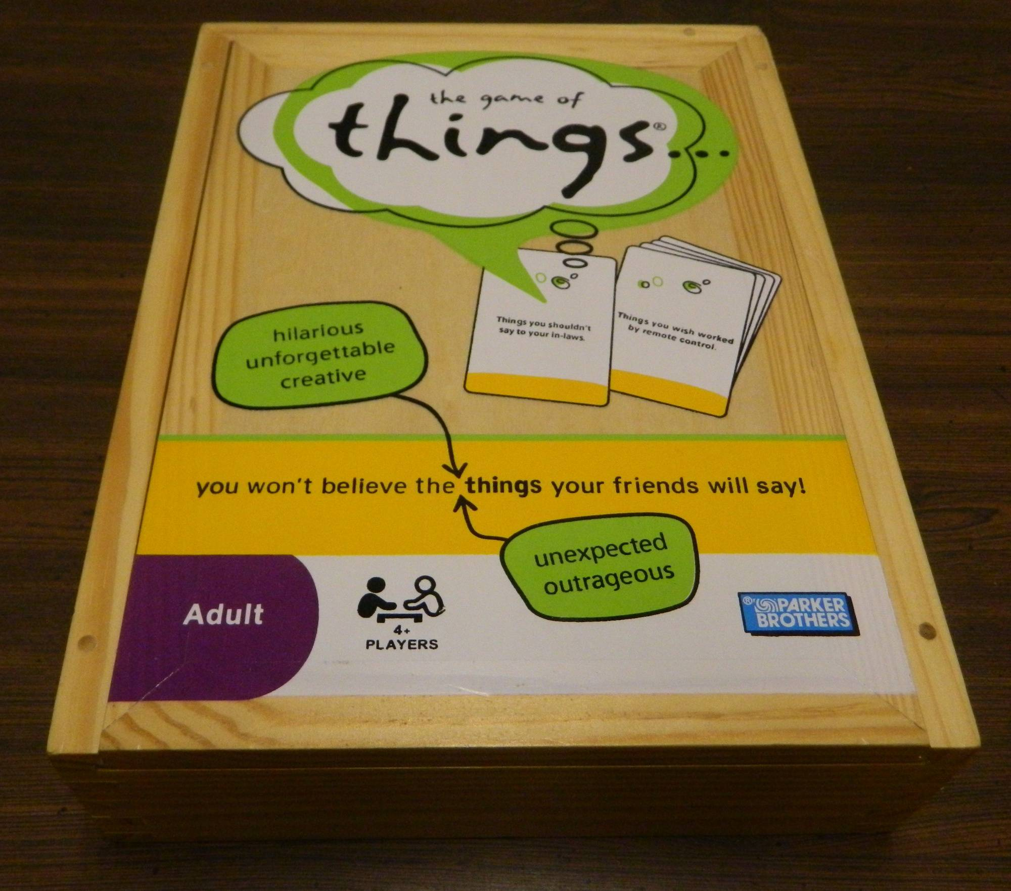 Box for The Game of Things