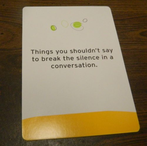 Card from The Game of Things