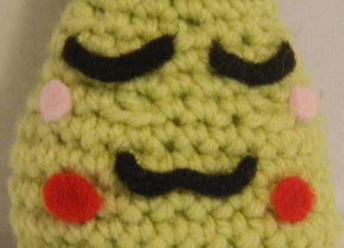 Face for Wasabi Amigurumi