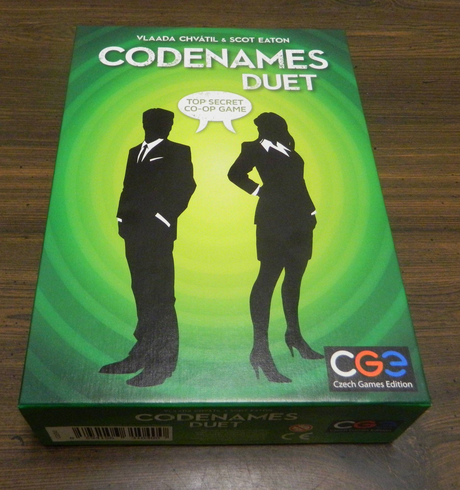 Box for Codenames Duet