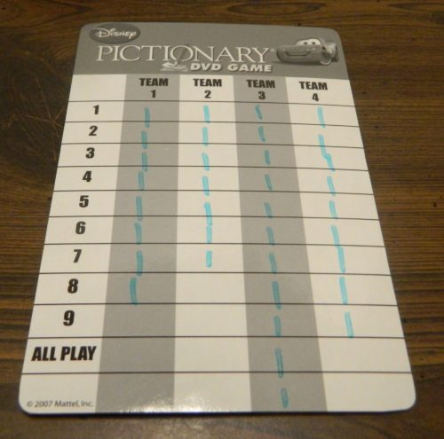 Winning Disney Pictionary DVD Game