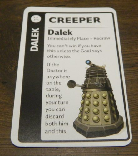 Creeper Card Doctor Who Fluxx