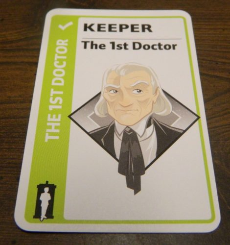 Keeper for Doctor Who Fluxx