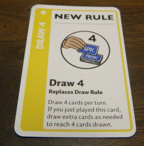 New Rule Card in Doctor Who Fluxx
