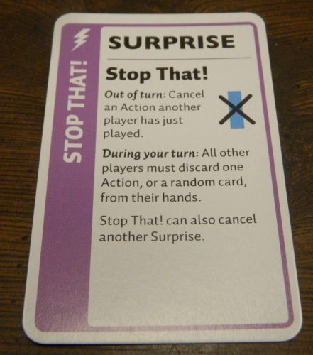 Surprise Card in Doctor Who Fluxx