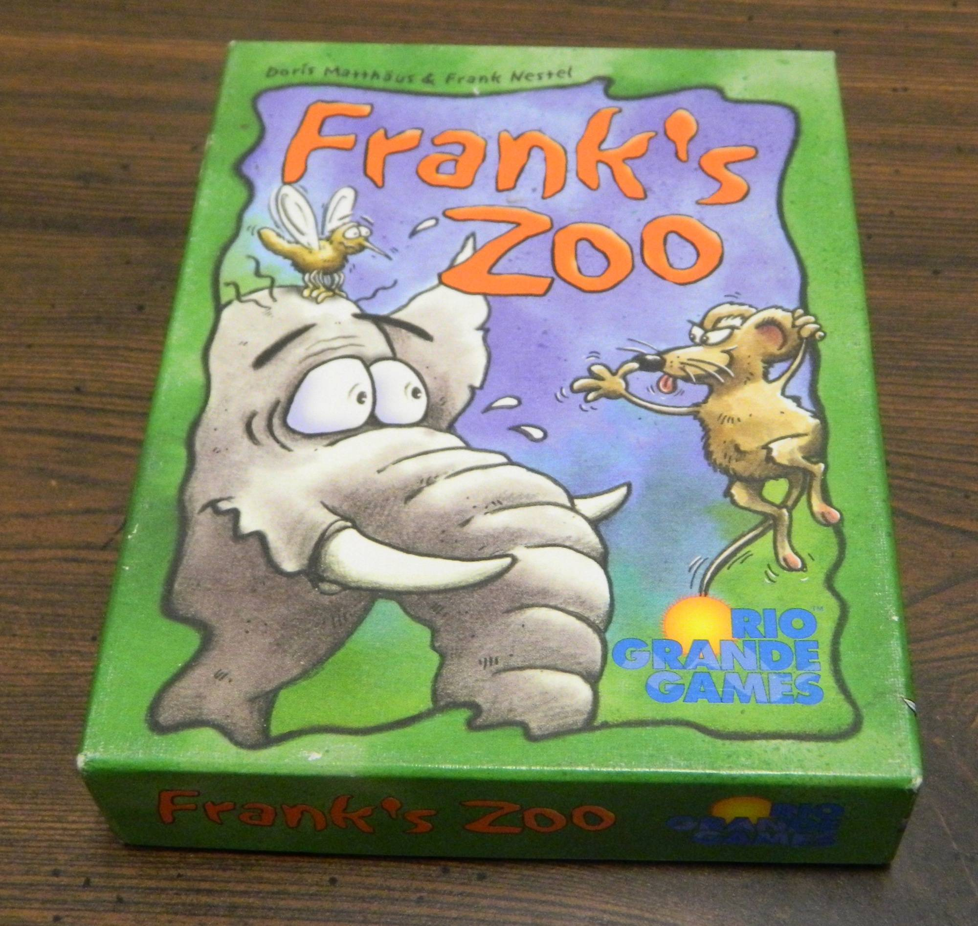 Box for Frank's Zoo