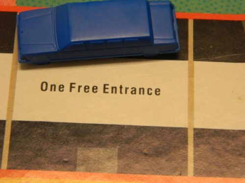One Free Entrance in Hotels