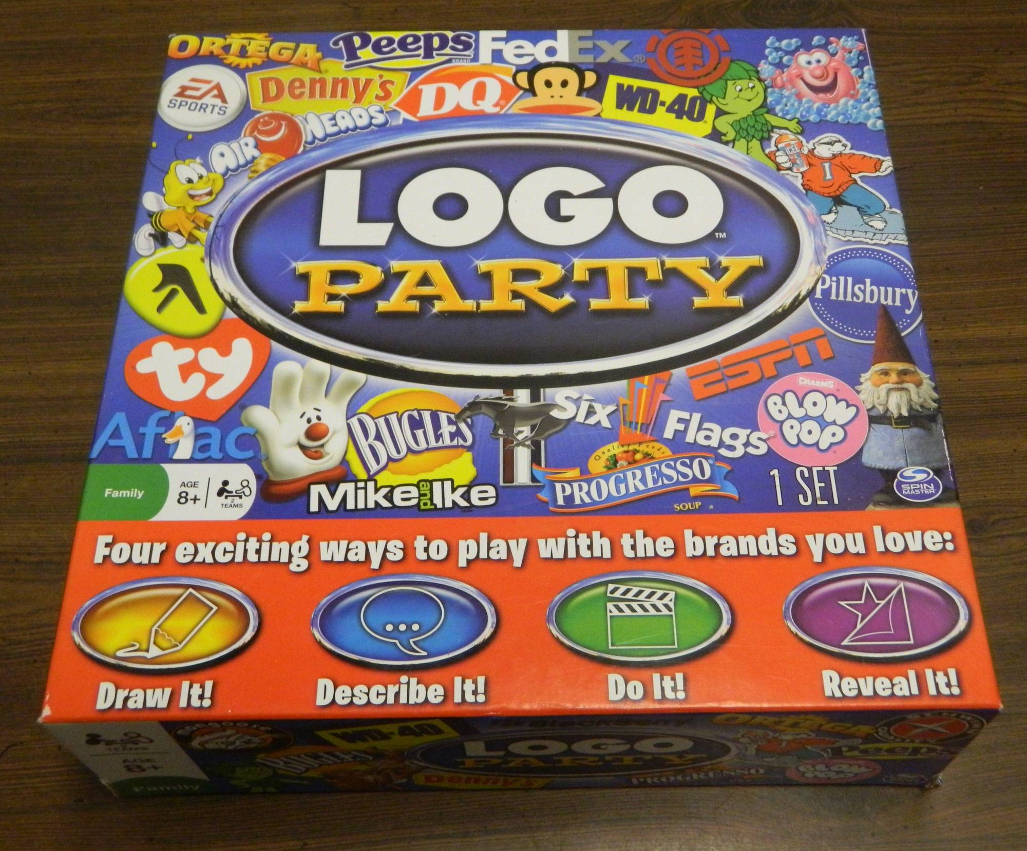 Box for Logo Party